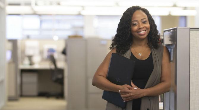 online MBA graduate Sammi Bivens